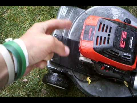 How To Convert A Lawn Mower From Gas To Propane Youtube