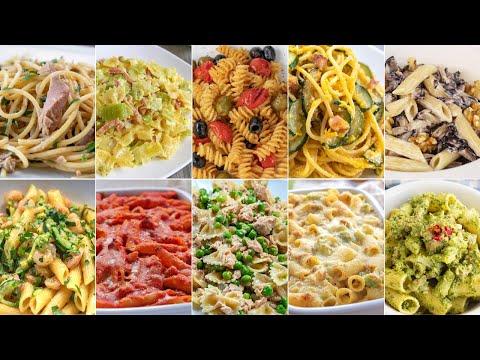 COMPILATION DI PRIMI PIATTI FACILI E VELOCI - 10 Ricette per Pasta - Fatto in Casa da Benedetta 1️⃣