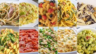 Pasta Dishes 10 Ways - Quick and Easy Italian Pasta Recipes by Benedetta