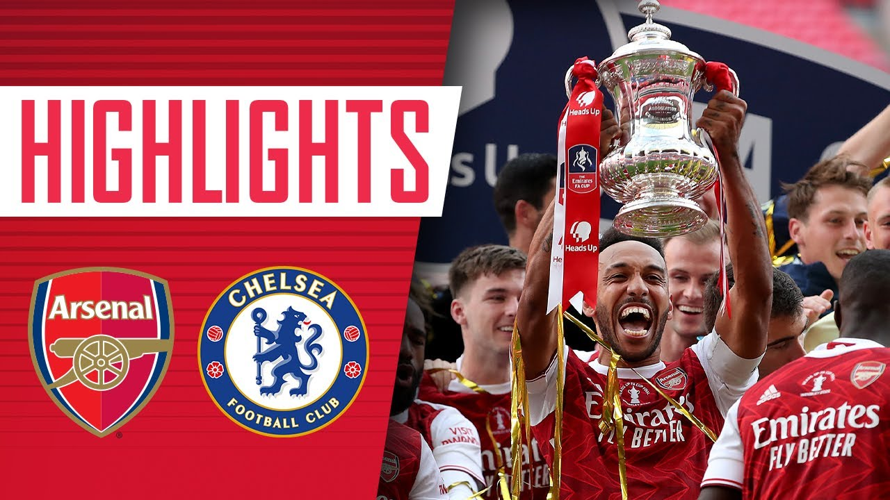 Download HIGHLIGHTS | Emirates FA Cup winners for the 14th time! | Arsenal 2-1 Chelsea | August 1, 2020