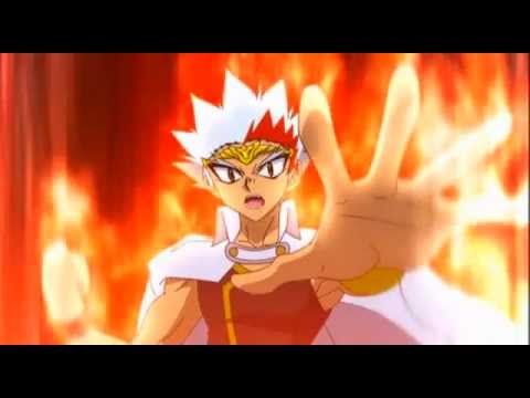 Beyblade Metal Fury - Ryuga Vs King