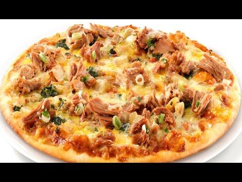 صورة  طريقة عمل البيتزا طريقة عمل البيتزا بالتونة في دقائق طريقة عمل البيتزا من يوتيوب