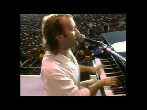Phil Collins - Against All Odds PHILADELPHIA (BBC - Live Aid 7/13/1985)