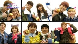"Special guests ""Shinhwa"" make G6's hearts flutter. 6 spring girls a..."