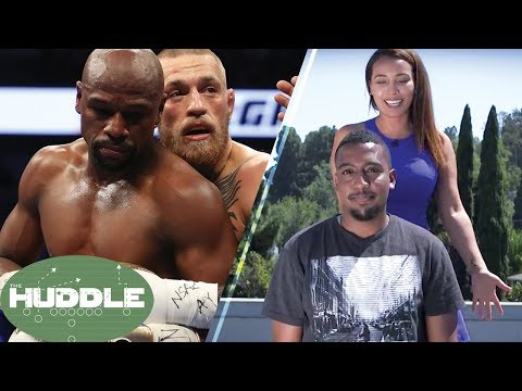 The Fumble's Mayweather vs McGregor Bet Gets SETTLED with Ice Bucket Shower
