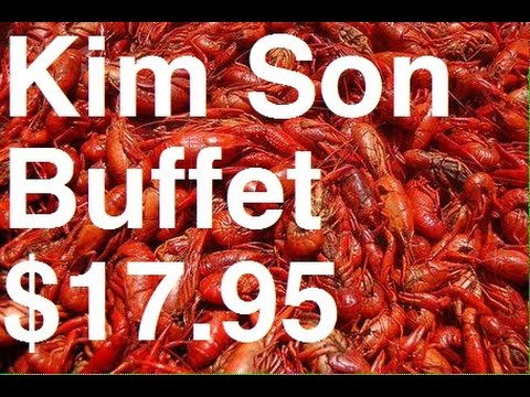 All-You-Can-Eat Crawfish, Frog Legs & Much More For $17.95 At Kim Son Buffet