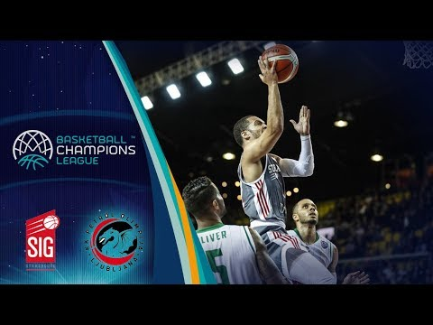 SIG Strasbourg v Petrol Olimpija - Full Game - Basketball Champions League 2017-18