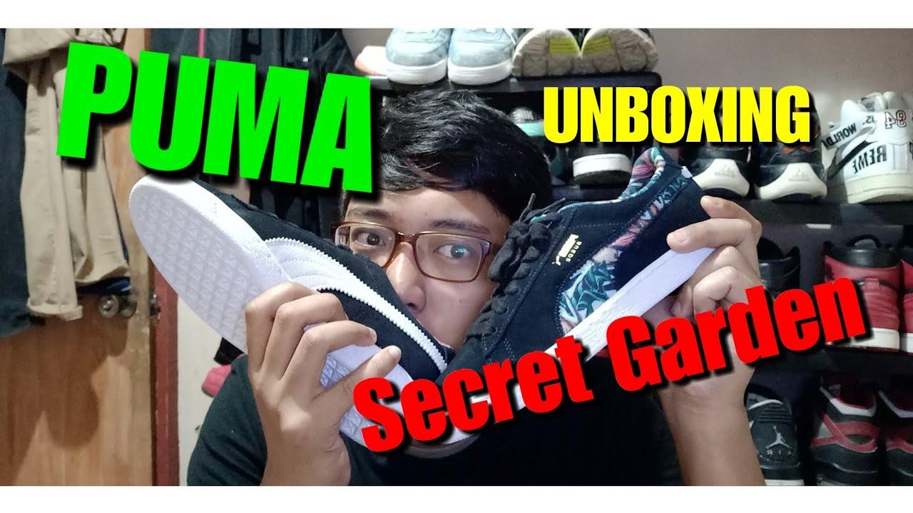 PUMA Secret Garden UNBOXING!! - YouTube
