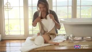 видео Детское банное полотенце с уголком для новорожденных после купания: какое выбрать