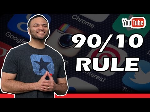 How To Use Social Media Properly - The 90/10 Rule