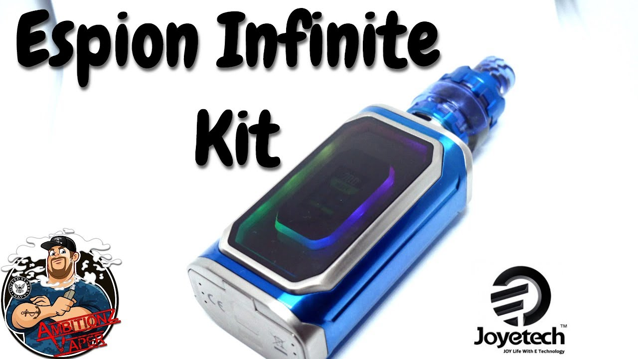 Joyetech Espion Infinite Kit Review - YouTube