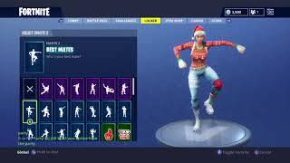 "Fortnite ""Nog Ops"" Skin Showcased with 40 Dances/Back Blings"