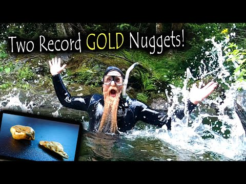 *RECORD GOLD NUGGETS* Found While Underwater Sniping!