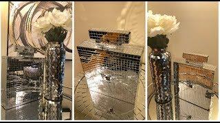 Dollar Tree DIY    💕 Perfume Bottle Table Clock 💕
