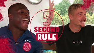 "5 SECOND RULE #3 | Brobbey vs Taylor | ""Name 3 bald trainers"""