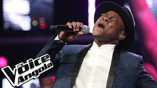 "Rafael Sampaio canta ""Mãe Querida"" / The Voice Angola 2015 / Gala"