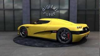 Koenigsegg CCXR by Car Studio Videos