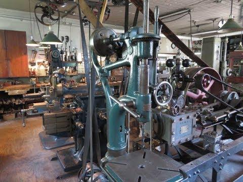 Engine Machine Shop >> Old Steam Powered Machine Shop 42 Steam Engine Slide Valve