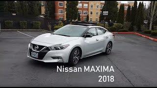 Nissan Maxima 2018 на русском