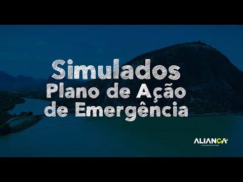 Plano de Ação de Emergência PAE - Aliança Energia