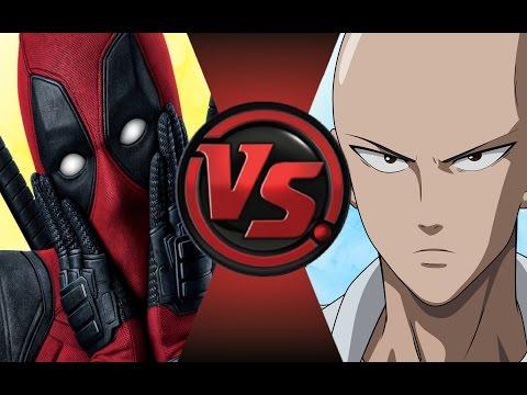 DEADPOOL vs ONE PUNCH MAN (SAITAMA)! Cartoon Fight Club Episode 72