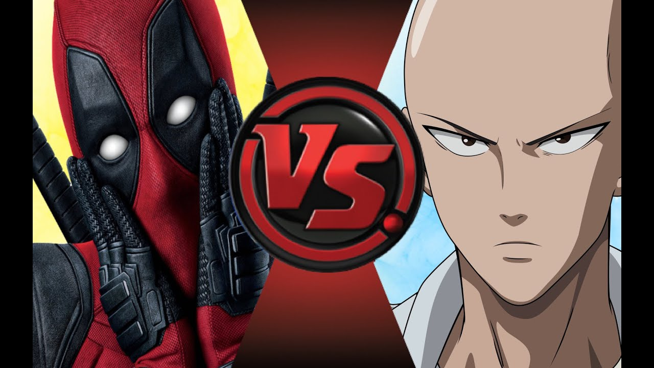 One Punch Man Animated Wallpaper Deadpool Vs One Punch Man Saitama Cartoon Fight Club