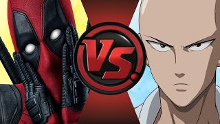 DEADPOOL vs ONE PUNCH MAN (SAITAMA)! Cartoon Fight Club Episode 72