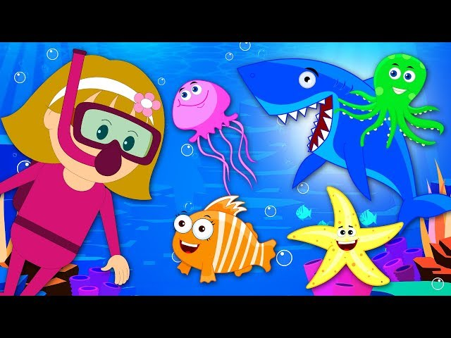 Learn Sea Animals With Elly by KidsCamp