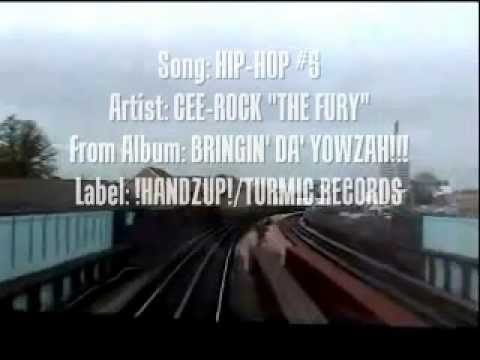 HIP-HOP #5 - Cee-Rock ''The Fury'' (from highly acclaimed 'Bringin' Da' Yowzah!!! album)