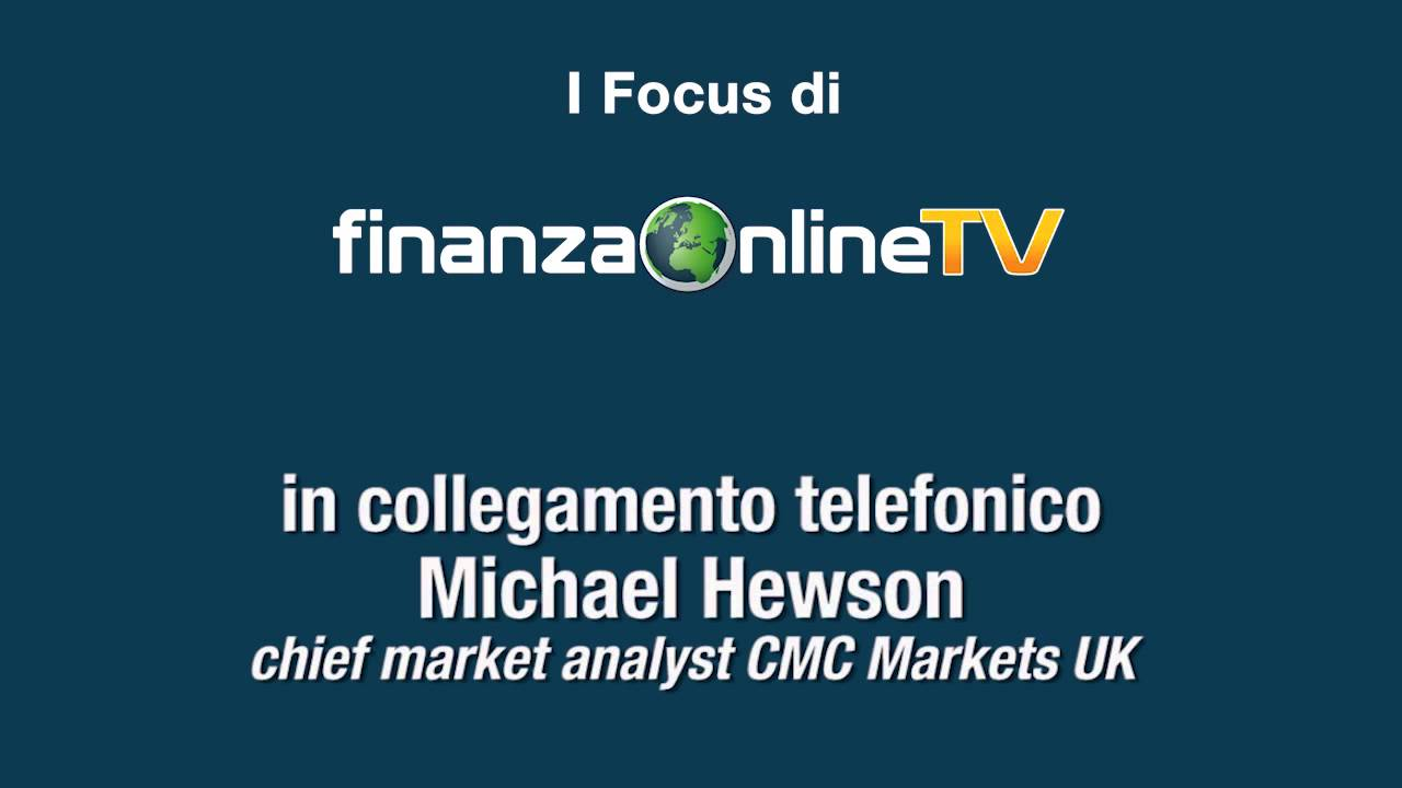 Michael Hewson, chief market analyst CMC Markets - YouTube