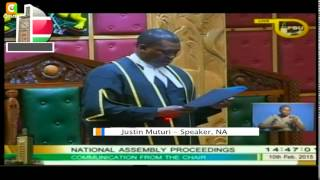 MPs Get Away With Parliament Chaos