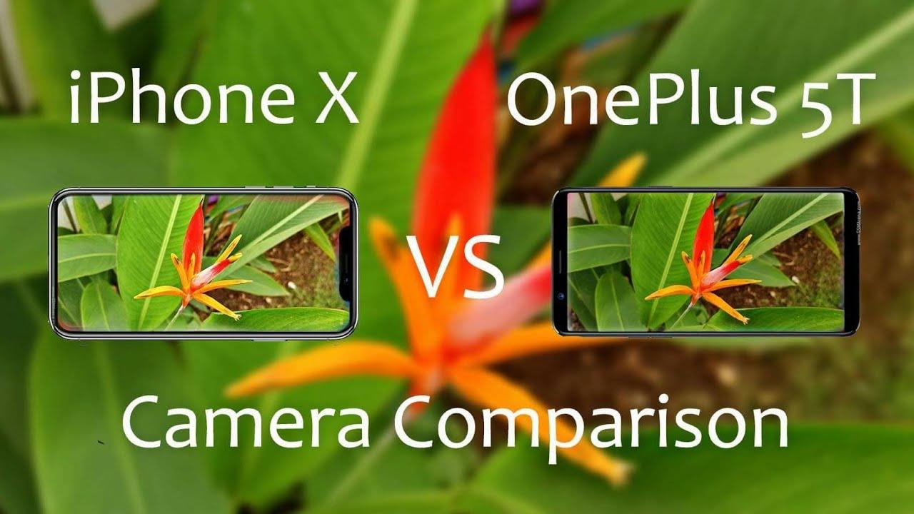 IPHONE VS ONEPLUS 5T