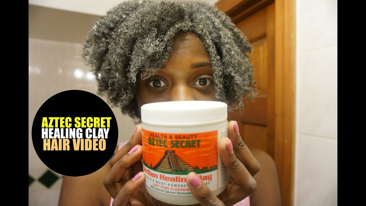 Indian healing clay mask for hair