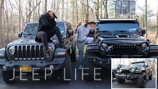 2018 JEEP WRANGLER JL & 2017 JEEP WRANGLER JK + His Mod Walk Around