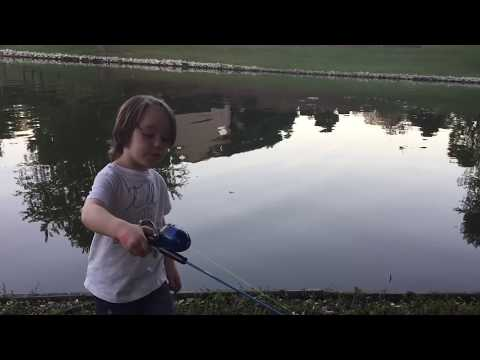Learning How To Cast A Fishing Pole