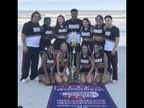 NCA National Champions | Robert Morris University Illinois Cheer Team