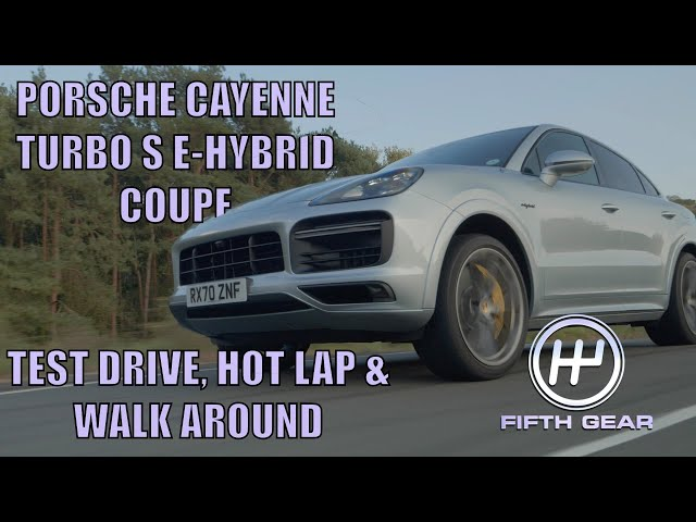 Porsche Cayenne Turbo S E-Hybrid Coupe FULL Test Drive, Hot Lap & Walkaround | Fifth Gear