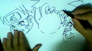HOW TO DRAW NARUTO RASENGAN