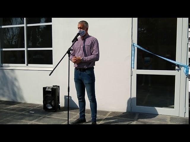 Placenzotti: Inauguraron el S.U.M. de la Escuela Técnica