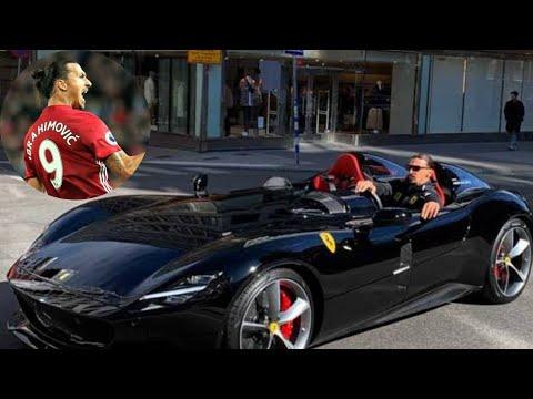Zlatan Ibrahimovic New Ferrari Video Youtube