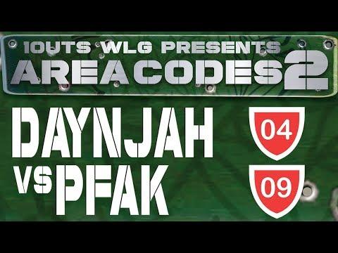 1OUTS WLG: AREA CODES 2 - DAYNJAH VS PFAK