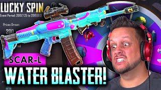 WATER BLASTER SCAR-L - IT'S A SUPER SOAKER! (UN)LUCKY SPIN!
