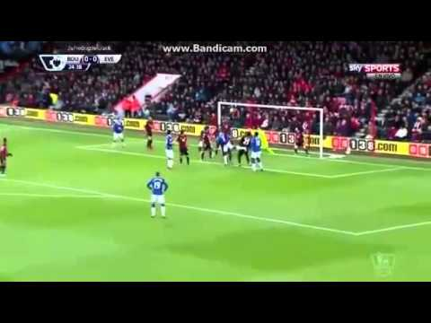 Gol de Ramiro Funes Mori - Everton - Bournemouth