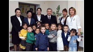 Президент Шавкат Мирзиёев 15-16 ноября 2018 года посетил Республику Каракалпакстан