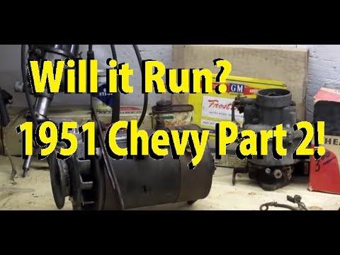 Will it Run? Episode 22: 1951 Chevy Bel Air! Part2