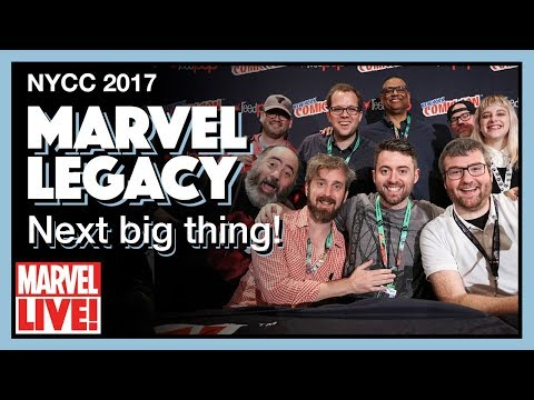 Marvel Legacy: Next Big Thing - Full NYCC 2017 Panel