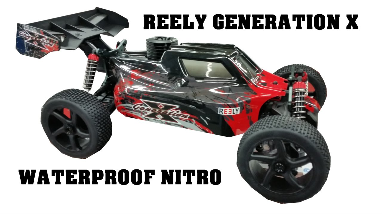 reely generation x waterproof nitro 1 8 rc buggy. Black Bedroom Furniture Sets. Home Design Ideas