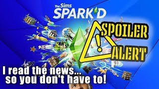 THE SIMS SPARK'D SPOILERS | INTERVIEW WITH THE WINNERS | THE SIMS 4 ECO LIFESTYLE SURPRISE