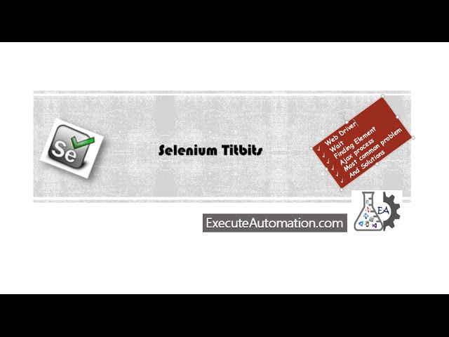 Handing Popup window in Selenium – ExecuteAutomation