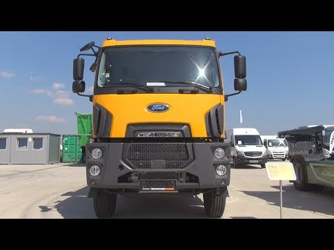Ford Trucks 3542D Euro 6 6x4 Tipper Truck (2017) Exterior and Interior in 3D